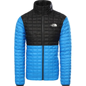 The North Face ThermoBall Eco Light Jacke Herren clear lake blue/tnf black clear lake blue/tnf black