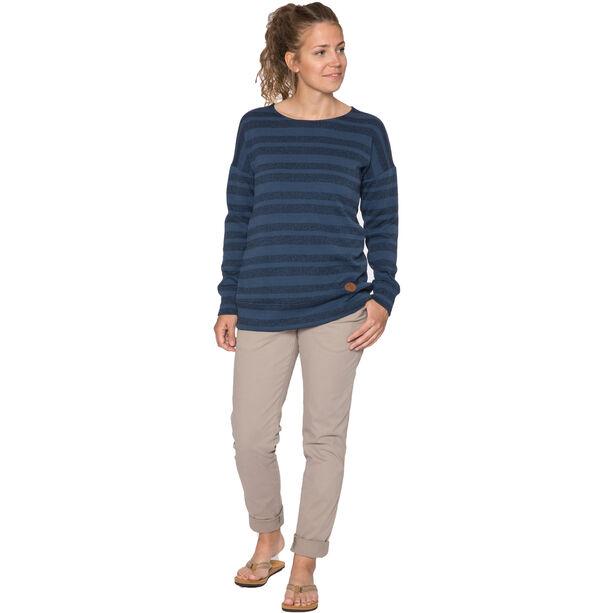 Elkline Lotti Fleece Pullover Damen blueshadow