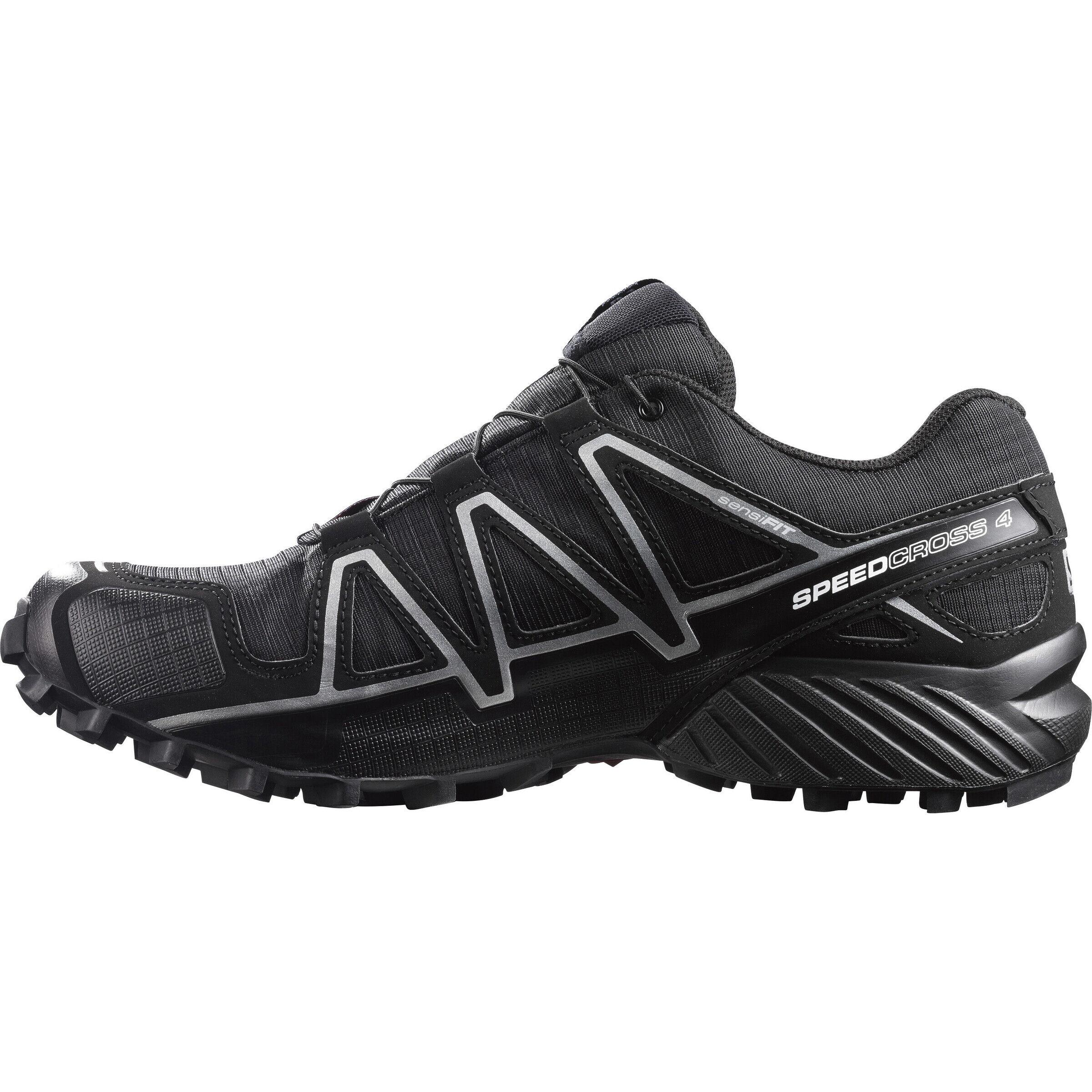 Salomon Speedcross 4 GTX Schuhe Herren blackblacksilver metallic x