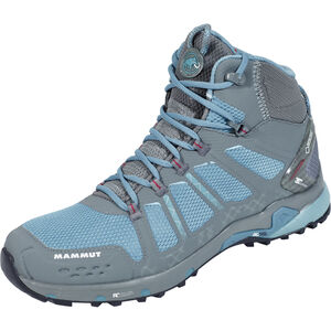 Mammut T Aenergy Mid GTX Shoes Damen grey-dark air grey-dark air