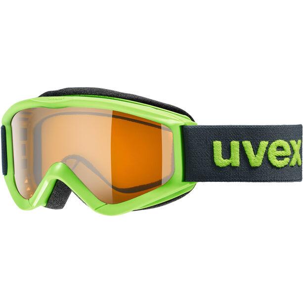 UVEX speedy pro Goggles Kinder lightgreen/lasergold