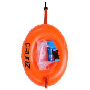 Zone3 Swim Safety Buoy Donut Dry Bag hi-vis orange hi-vis orange