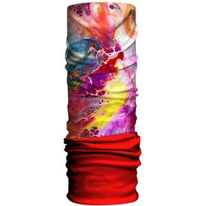 HAD Original Fleece Tube Scarf fluid/red fluid/red