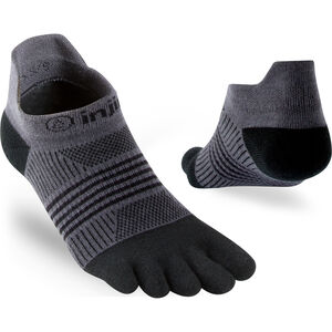 Injinji Run Coolmax Xtra Lightweight Sneakersocken Damen black gray black gray