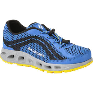 Columbia Drainmaker IV Shoes Kinder stormy blue/deep yellow stormy blue/deep yellow