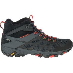 Merrell Moab FST 2 GTX Mid-Cut Schuhe Herren black/granite black/granite