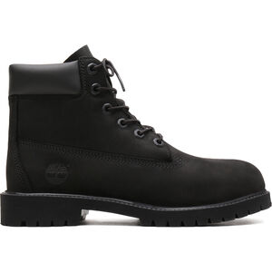 "Timberland Icon Collection Premium Boots 6"" Kinder black nubuck black nubuck"