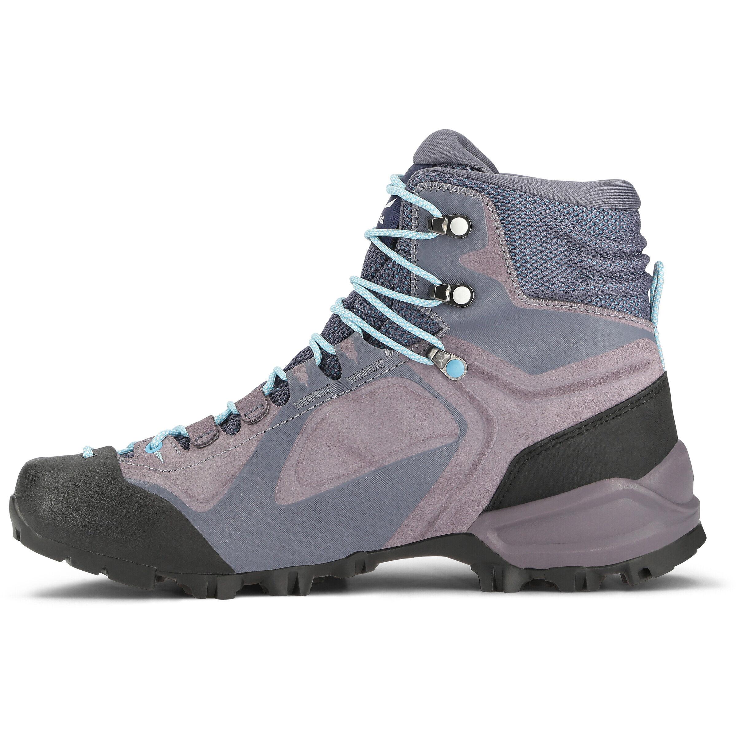 SALEWA Alpenviolet GTX Mid Cut Schuhe Damen grisailleethernal blue