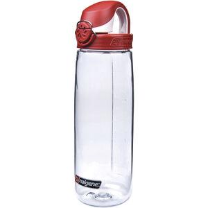 Nalgene Everyday OTF Trinkflasche 700ml transparent/rot transparent/rot