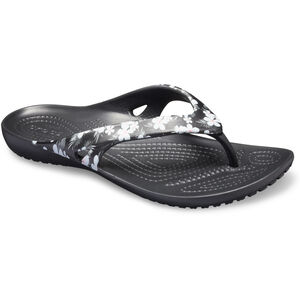 Crocs Kadee II Seasonal Flip Sandals Damen tropical floral/black tropical floral/black
