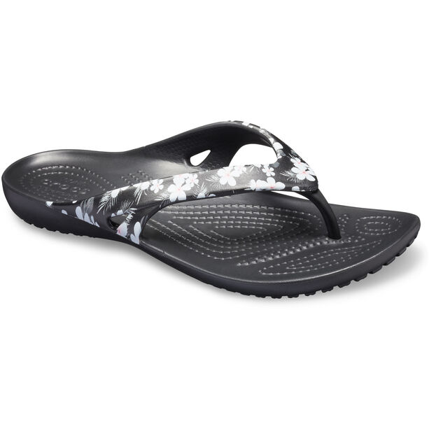 Crocs Kadee II Seasonal Flip Sandals Damen tropical floral/black