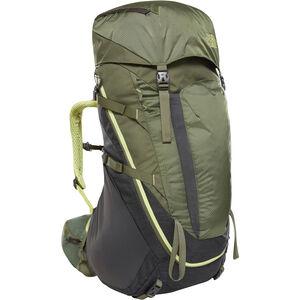 The North Face Terra 55 Backpack Damen tnf dark grey heather/four leaf clover tnf dark grey heather/four leaf clover