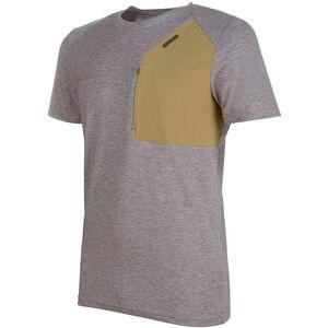 Mammut Crashiano Pocket T-Shirt Herren shark melange-boa shark melange-boa
