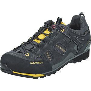 Mammut Alnasca Low GTX Shoes Herren graphite-yellowstone graphite-yellowstone