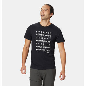 Mountain Hardwear Seven Summits SS T-Shirt Herren black black
