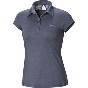 Columbia Peak to Point Novelty Polo Damen nocturnal nocturnal