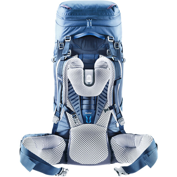 Deuter Aircontact 50 + 10 SL Backpack Damen steel-midnight
