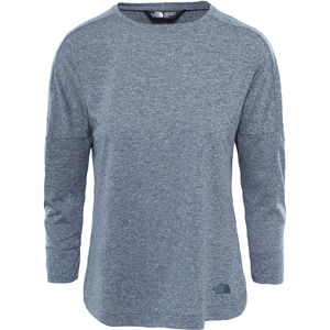 The North Face Inlux 3/4 Sleeve Top Damen vanadis grey heather vanadis grey heather