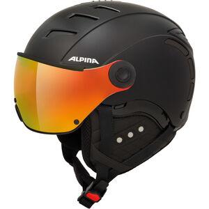 Alpina Jump 2.0 QVMM Ski Helmet black matt black matt