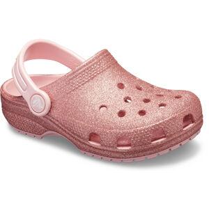 Crocs Classic Glitter Clogs Kinder blossom blossom