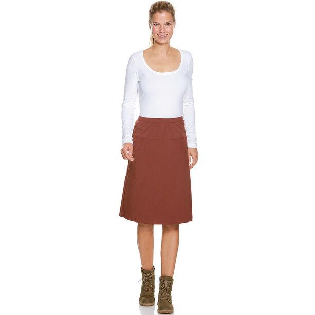 Tatonka Tori Skirt Damen aubergine red