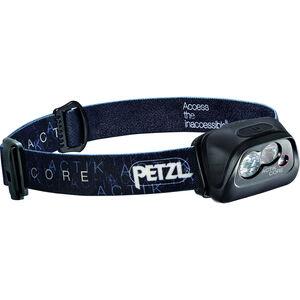 Petzl Actik Core Stirnlampe schwarz schwarz