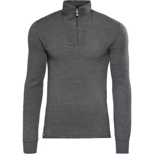 Woolpower 200 Zip Turtle Neck grey grey