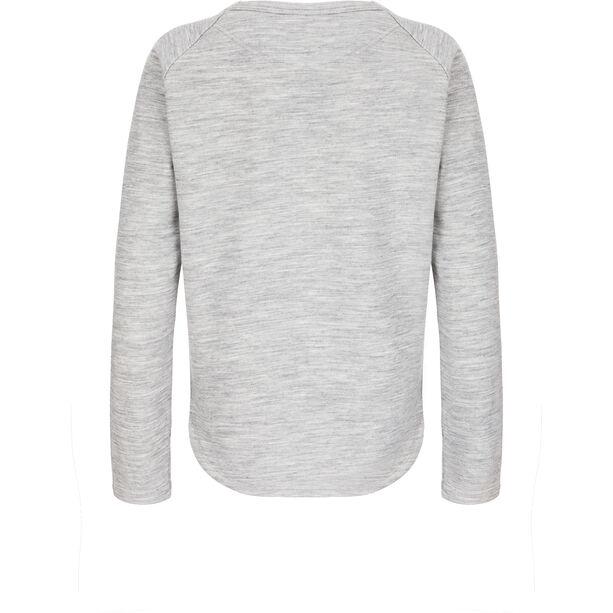 super.natural Knit Sweater Damen ash melange