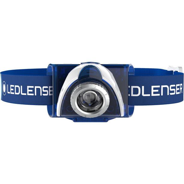 Led Lenser LED SEO 7R Stirnlampe Blister blue