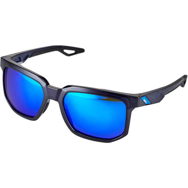 100% Centric Glasses polished translucent blue | mirror