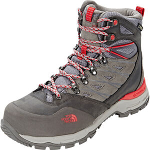 The North Face Hedgehog Trek GTX Shoes Damen dark gull grey/melon red dark gull grey/melon red