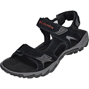 Columbia Santiam 3 Strap Sandals Herren black/mountain red black/mountain red