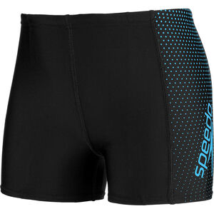 speedo Gala Logo Panel Aquashorts Jungs black/blue black/blue