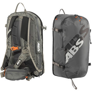 ABS s.LIGHT Compact Base Unit + s.LIGHT Compact Zip-On 30l Backpack rock grey rock grey