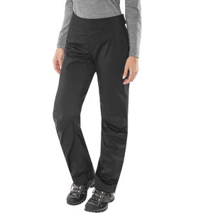 Black Diamond Stormline Stretch Full-Zip Regenhose Damen black black