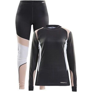 Craft Baselayer Set Damen dark grey melange/touch dark grey melange/touch