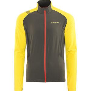 La Sportiva Levante Jacket Herren black/yellow black/yellow
