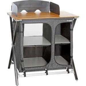 Brunner Mercury Cross Square Cooker HWT Küchenschrank grau grau