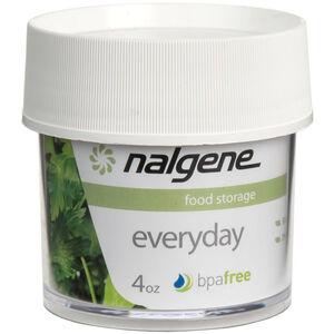 Nalgene Polycarbonat Dose 125ml white white