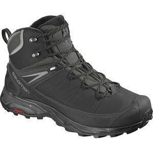 Salomon X Ultra Mid CS WP Shoes Herren black/phantom/quiet shade black/phantom/quiet shade