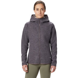 Mountain Hardwear Hatcher Full Zip Hoody Damen purple dusk purple dusk