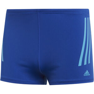 adidas Pro 3-Stripes Boxer Herren collegiate royal/shock cyan collegiate royal/shock cyan