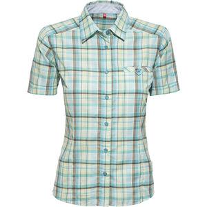 axant Alps Travel Shirt Agion Active Damen blue/green check blue/green check