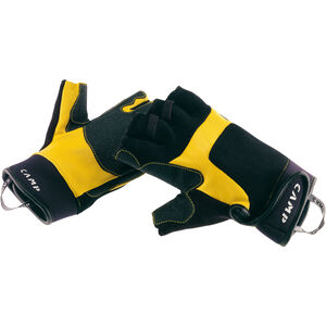 Camp Pro Fingerless Gloves yellow/black yellow/black