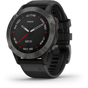 Garmin Fenix 6 Sapphire Multisport GPS Smartwatch black/slate grey black/slate grey