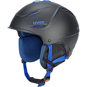 UVEX p1us Pro Helmet black blue mat black blue mat