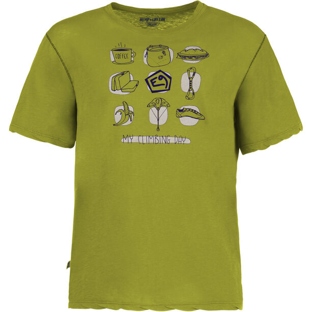 E9 My Day T-Shirt Herren apple