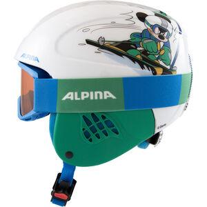 Alpina Carat Set Disney Helm Kinder Mickey Mouse Mickey Mouse