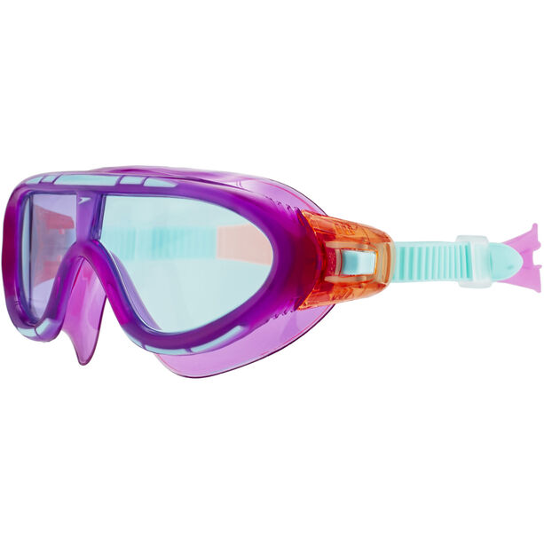 speedo Biofuse Rift Goggles Kinder orchid/soft coral/peppermint