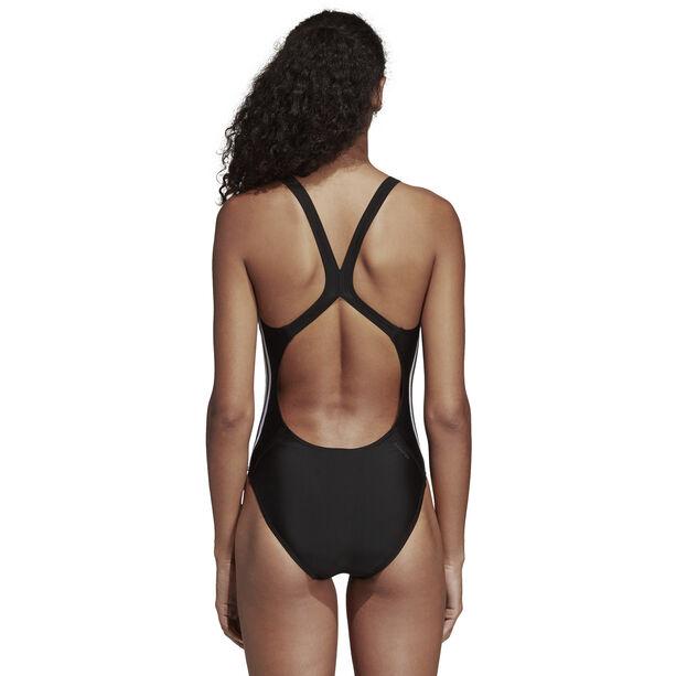 adidas Fit 3-Stripes Swimsuit Damen black/white